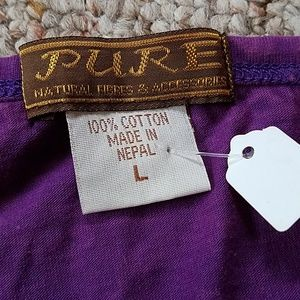 Pure Tops - Natural Fibres Tank from Nepal